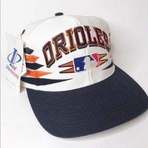 VIntage Baltimore Orioles Snapback Hat Diamond 90s